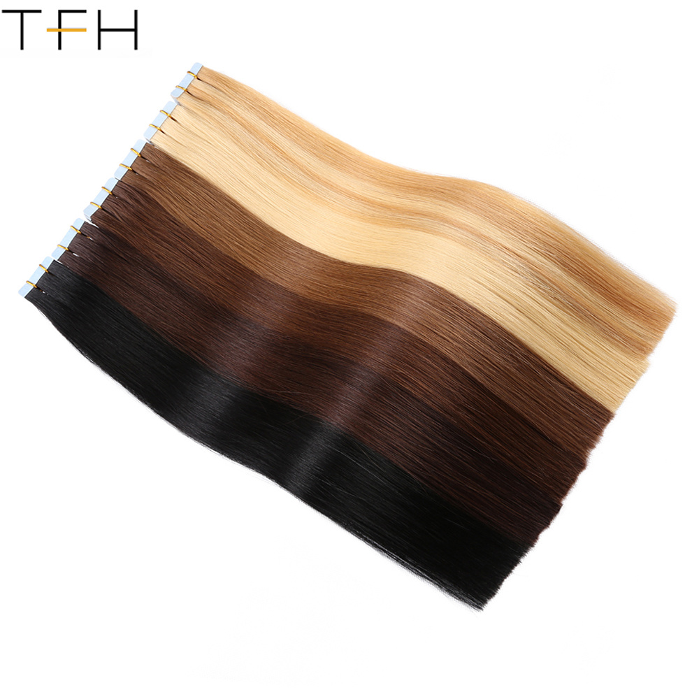 China Wholesale Price 20 Inch Tape In Remy Hair Extensions 50g 20pcs