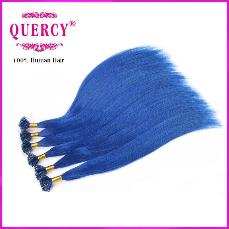 China Wholesale Italy Glue 100 Blue Color Brazilian Human Keratin