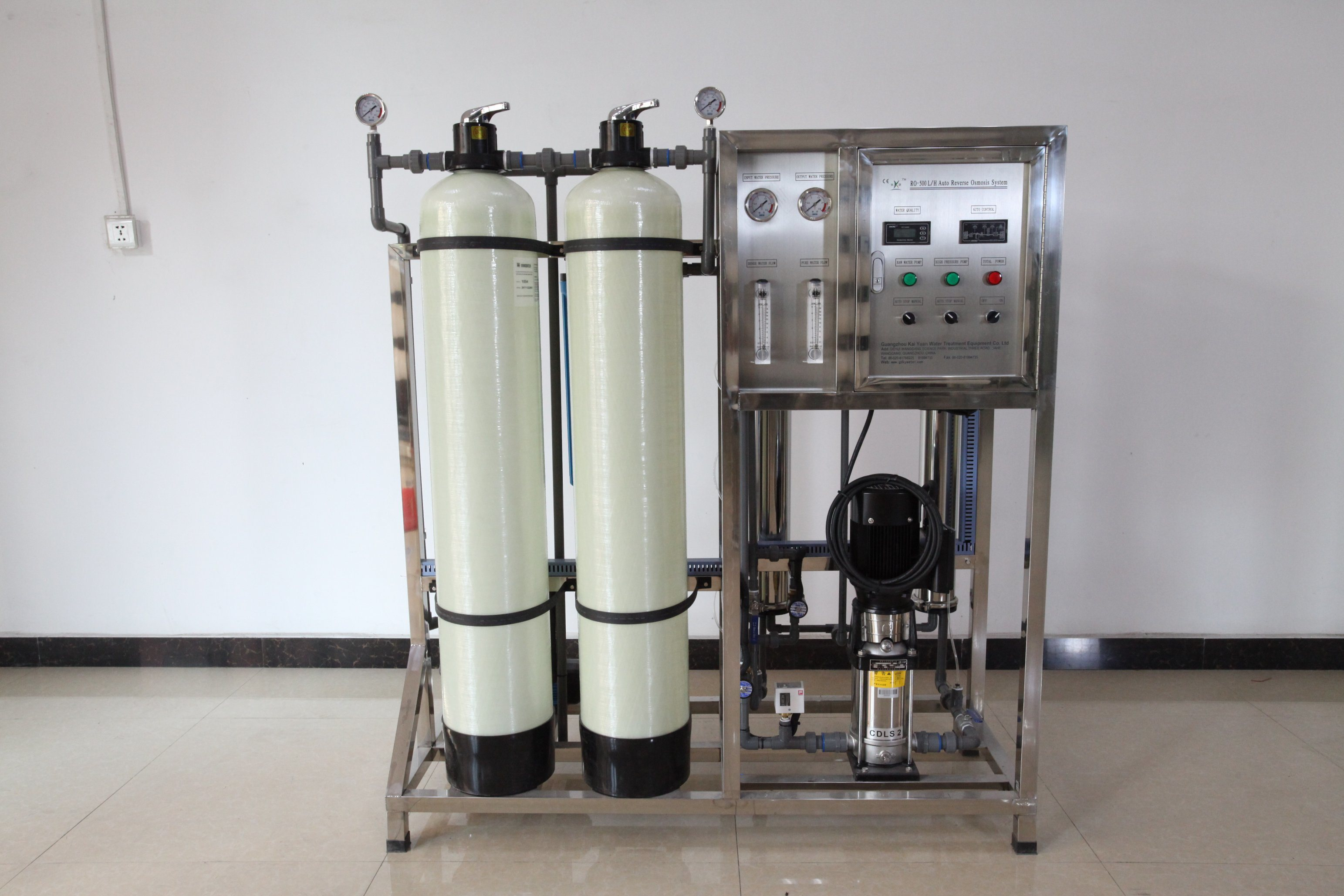05728869c3c China Reverse Osmosis Water Purification System 500lph - China ...