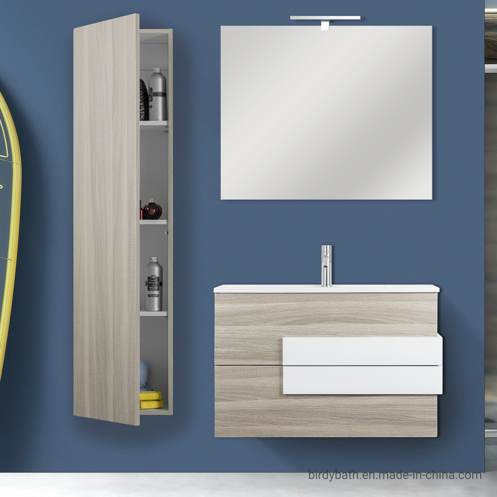 80 Cm Compact Light Oak Furniture
