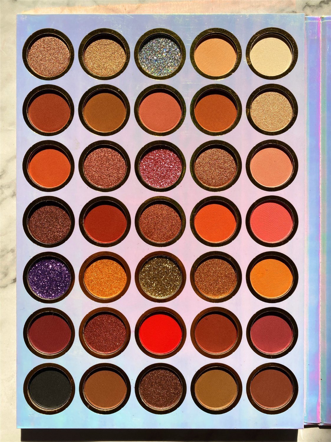 Colorful Private Label Cosmetic Glitter High Pigmented