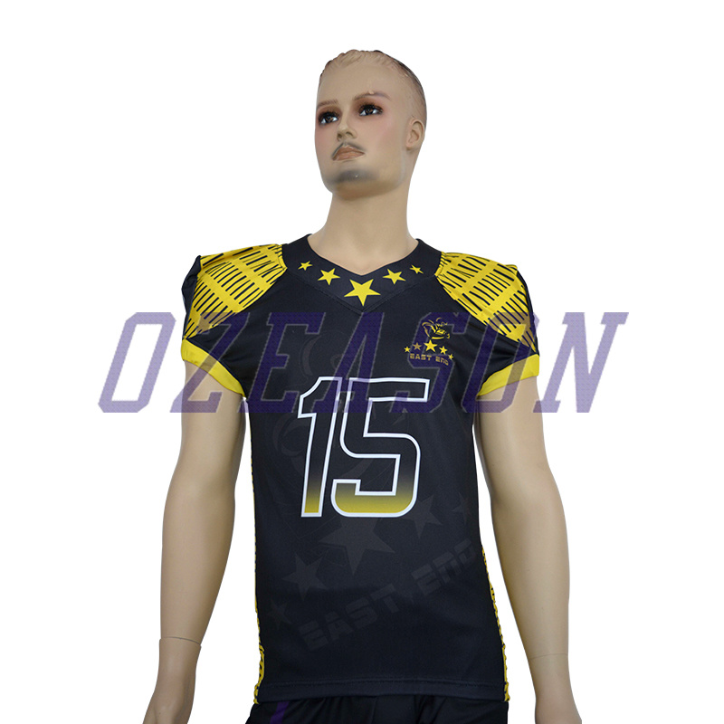 d4cd994ed Design Your Own Customized Sublimation Printed American Football Jersey