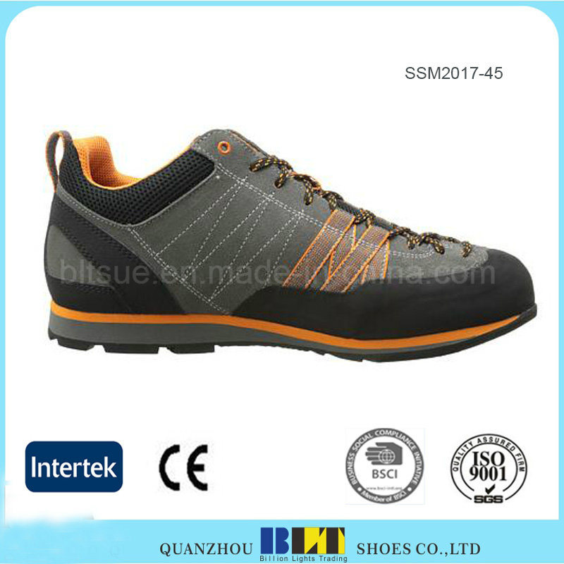 Comfortable Hiking Shoe Smooth Recycled Polyester Lining pictures & photos