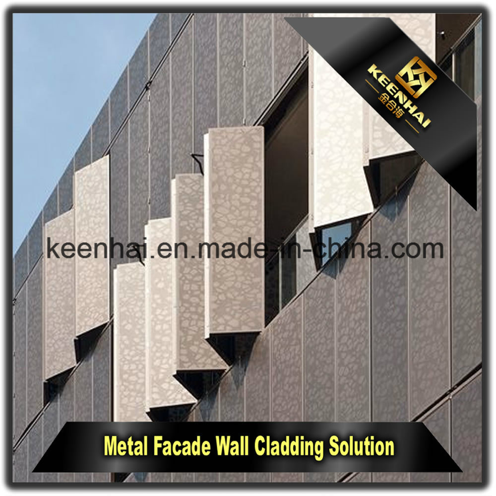 China Outdoor Wall Covering Facade Panels Aluminum Cladding