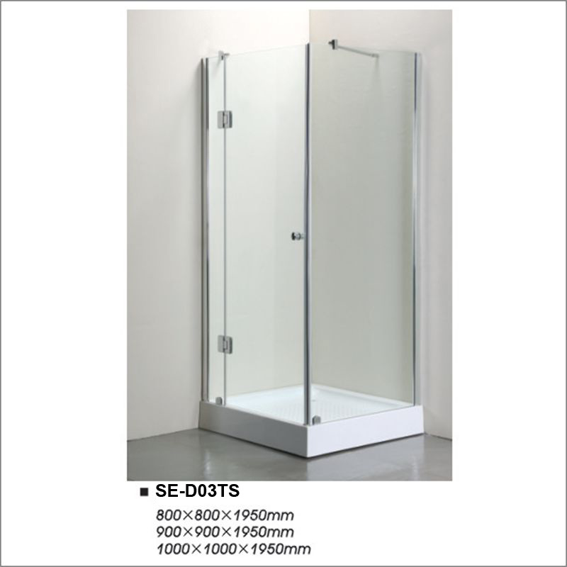 China 800*800*1950mm Transparent Glass Two-Door Shower Cubicles with ...
