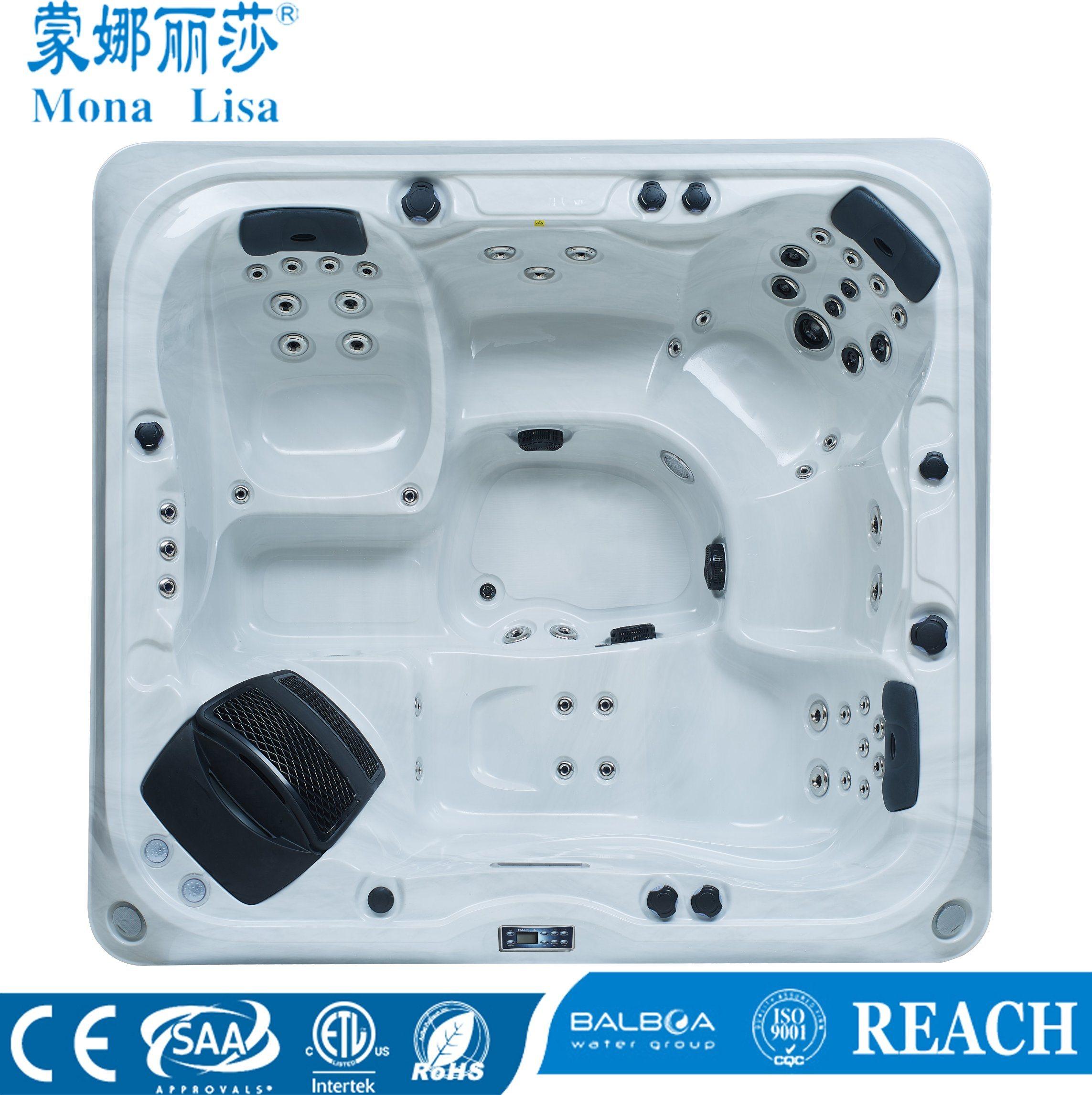 China Monalisa Luxury Special Design Outdoor Whirlpool Massage SPA ...