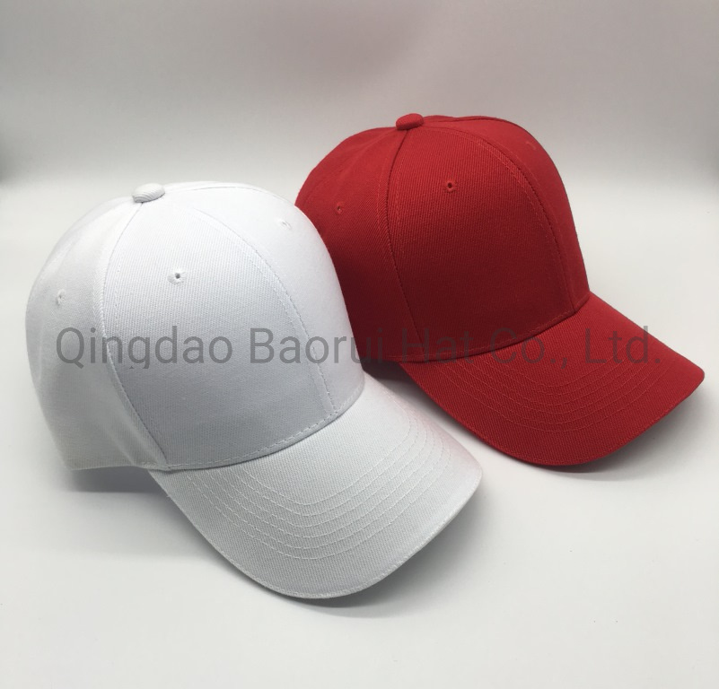 High Quality Arclylc Wool Baseball Caps Sport Hats with Sandwich pictures & photos