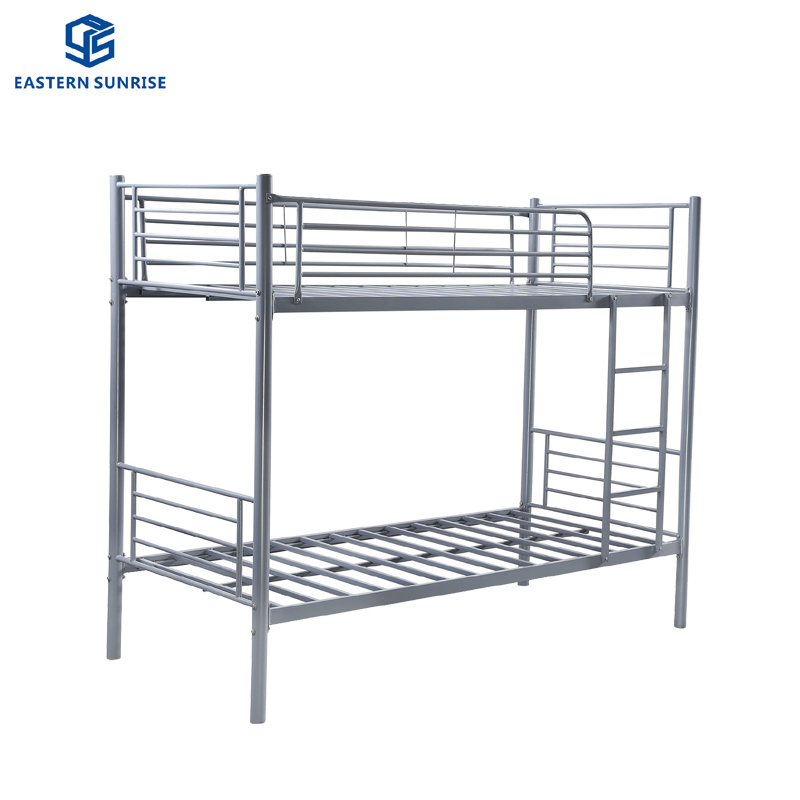 High Quality Stainless Steel Twin Over Twin Bunk Beds Ladder Space
