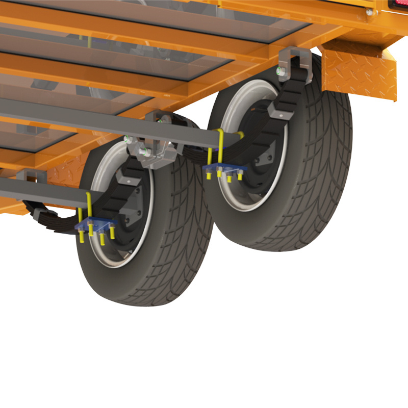 China Rocker Roller Trailer Leaf Springs Suspension For Russian Market China Rocker Rollers Rocker Roller Springs