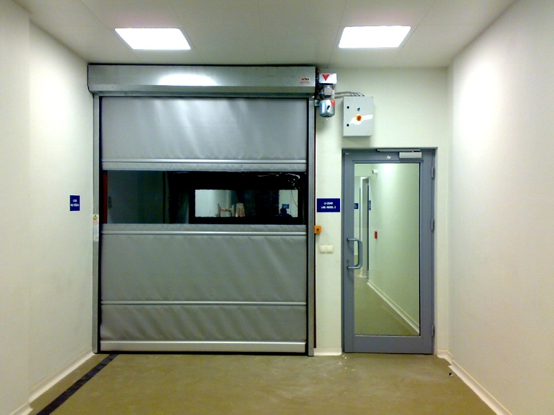 China Interior Residential Roll Up Doors High Speed Door Hz Hsd05