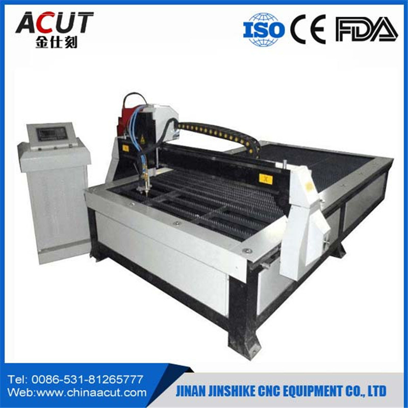 Acut-1530 CNC Plasma Metal Cutting Machine with Rotary pictures & photos