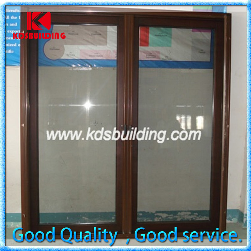 China Best Soundproof Interior Solid Wooden Frame Glass Painting Door Aluminum For