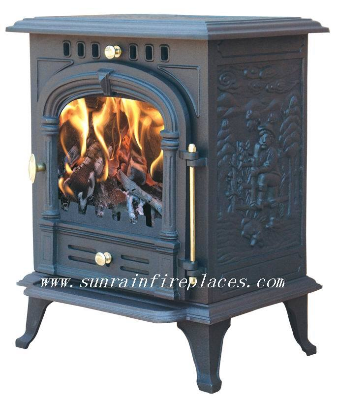 China Indoor Wood Stove Ja002 China Indoor Wood Stove