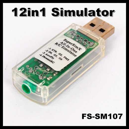 China FS-SM107 12in1 USB Flight Simulator Cable (Phoenix 4 0