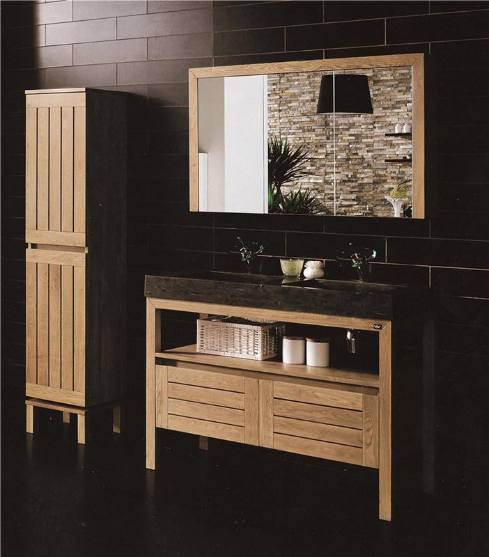 China Plywood PVC Solid Wood Sanitary Ware Bathroom