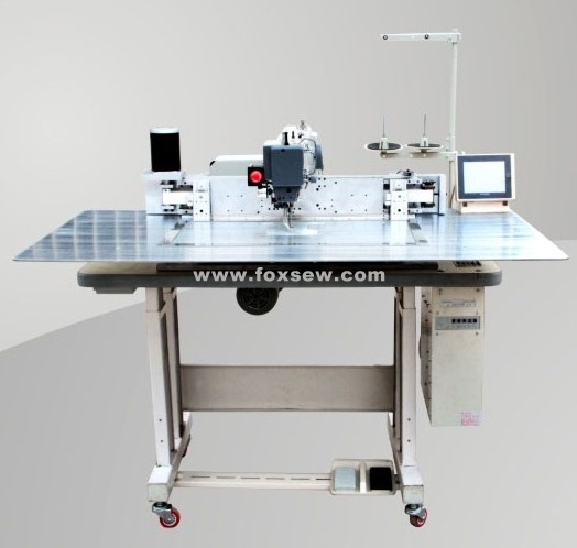 China Automatic Programmable Pattern Sewing Machine For Garments New Automated Sewing Machine Co Ltd
