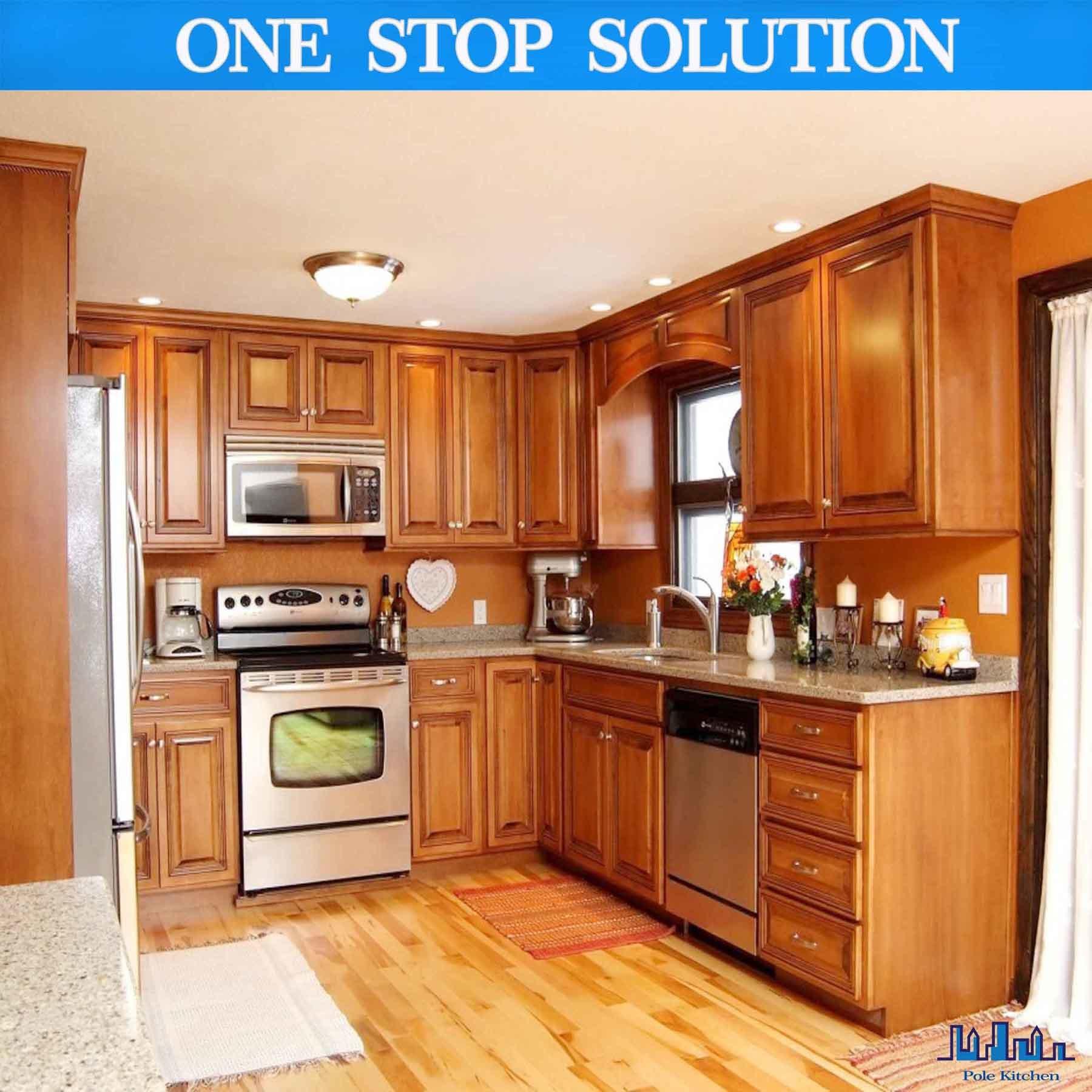 China All Wood Kitchen Cabinets 10x10 Harvest Oak Rta Free Shipping Kithen Cabinet
