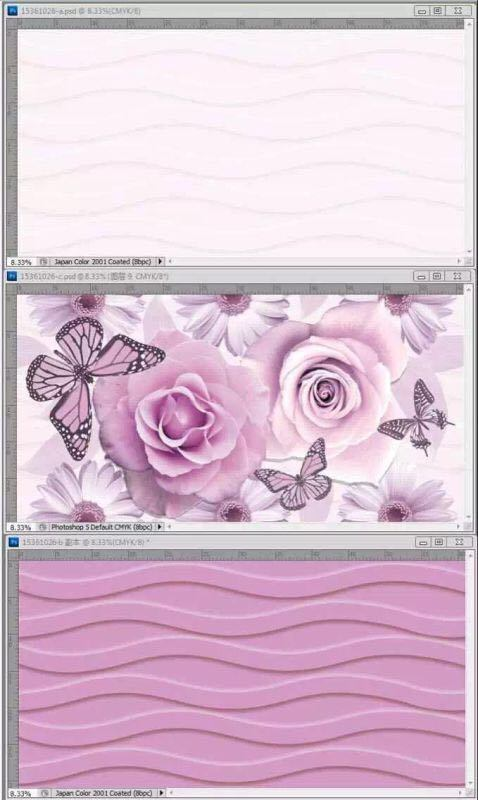 3D Inkjet Glazed Water Proof Wall Tile 300*600mm pictures & photos