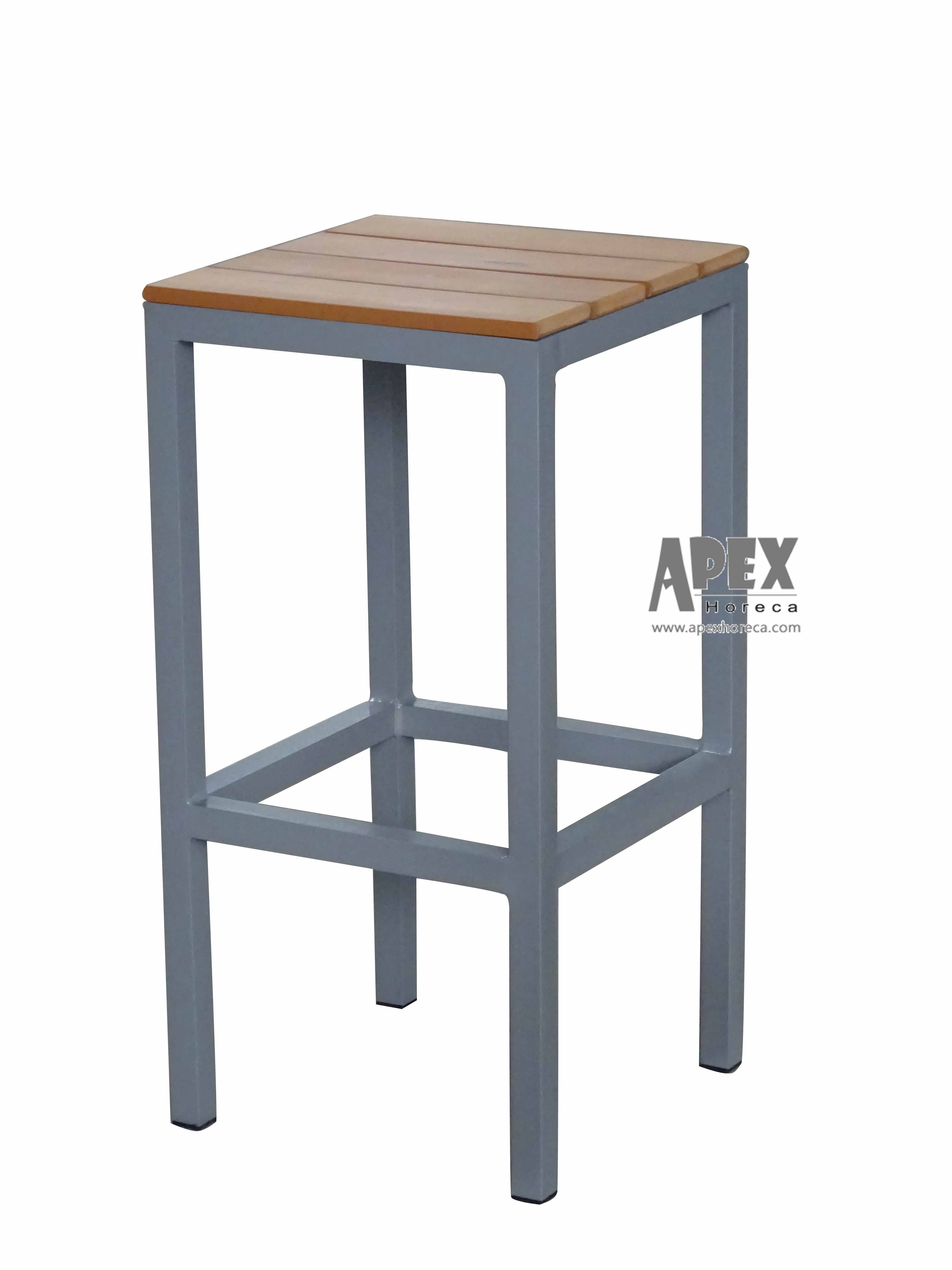 [Hot Item] Outdoor Furniture Aluminum Chair for Restaurant and Cafe Usage