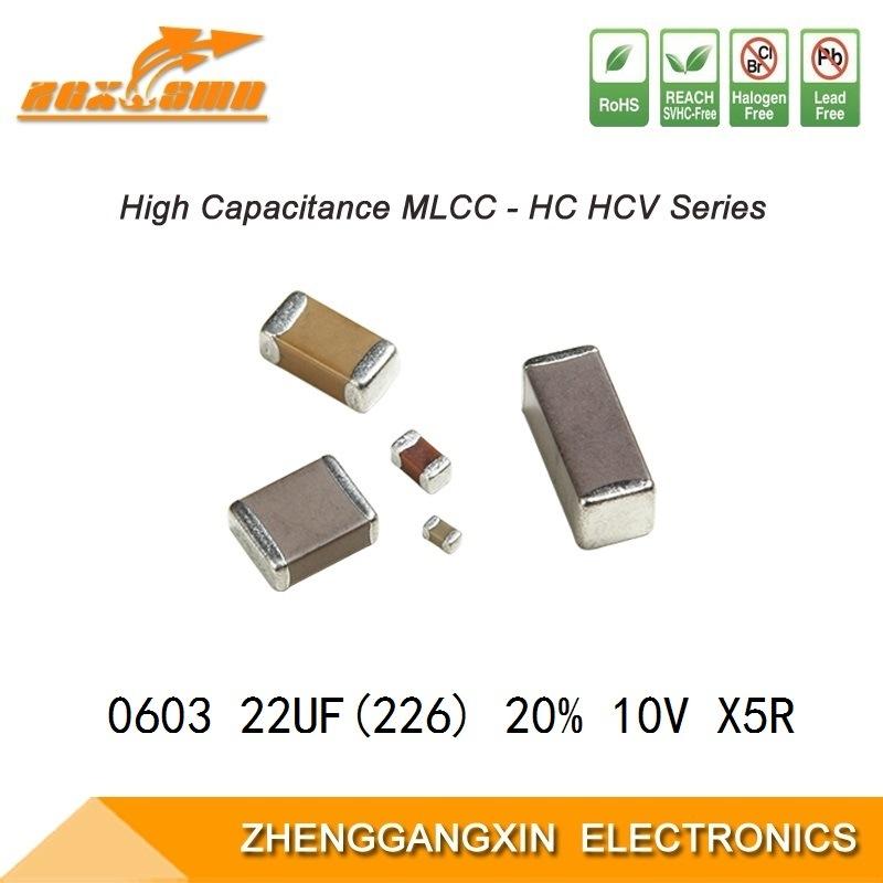 5x 22 µf 16V 20/% Chip Elko Capacitor SMD My UF U