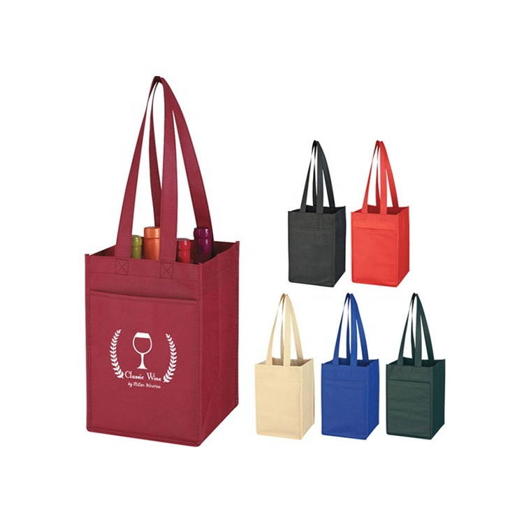Wholesale Customized Promotional Non Woven Shopping Bag pictures & photos