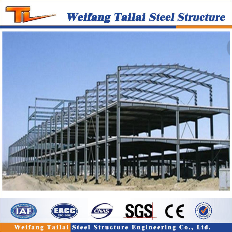 China Two Floor Storey Steel Structure Building Prefab