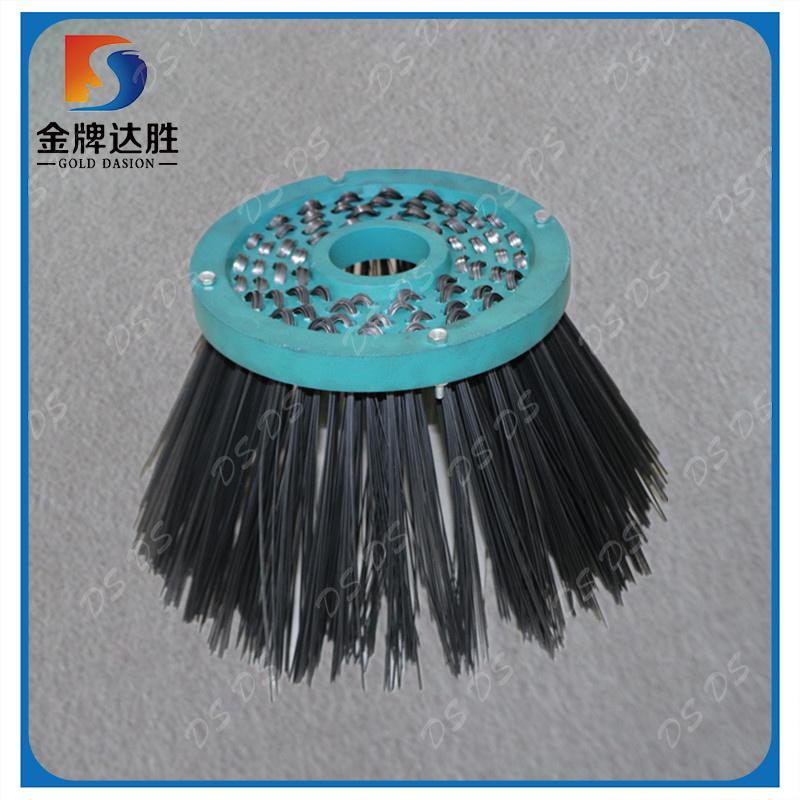 China Steel Wire Sweeper Gutter Broom Brush - China Sweeper Brush ...