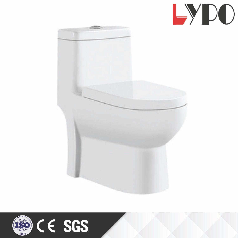 China Lp1002 Sanitary Ware Bathroom Accessories Ceramic One Piece Wc ...