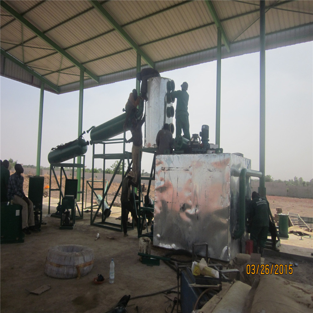 China Mini Continuous Black Car Oil Distiller To Engine Diesel