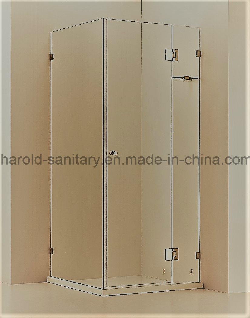 China Comfortable Hinge Open Corner Shower Cabin - China Shower Door ...