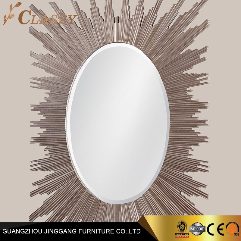 China Home Furniture Wall Decoration Rose Gold Mirror For Bathroom Use China Living Room Furniture Home Furniture