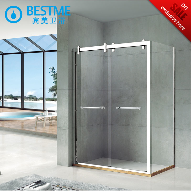 China Cheap Price Stainless Steel Sliding Shower Enclosure (BL-B0023 ...