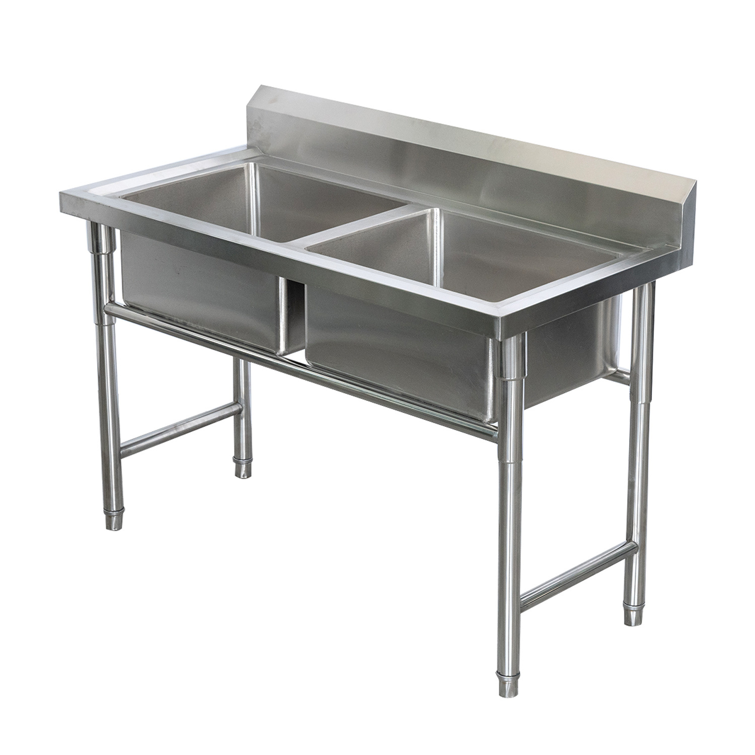 China Restaurant Commercial Sink Aluminum Lanka Double Bowl Stainless Steel Kitchen Sink China Stainless Steel Sink Kitchen Sink