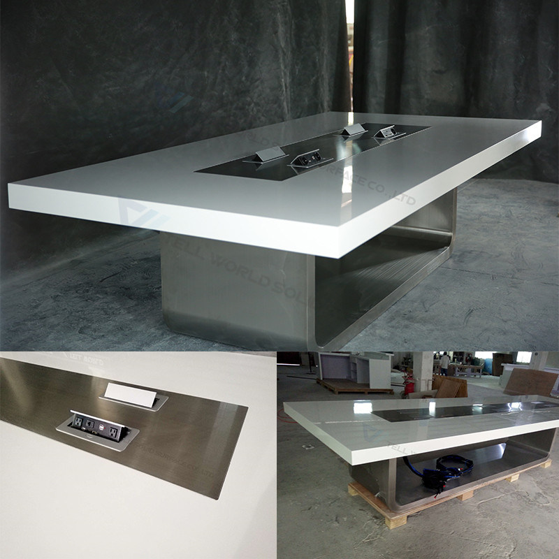China Large Marble Stone Conference Table Luxury Office Conference - Stone conference table