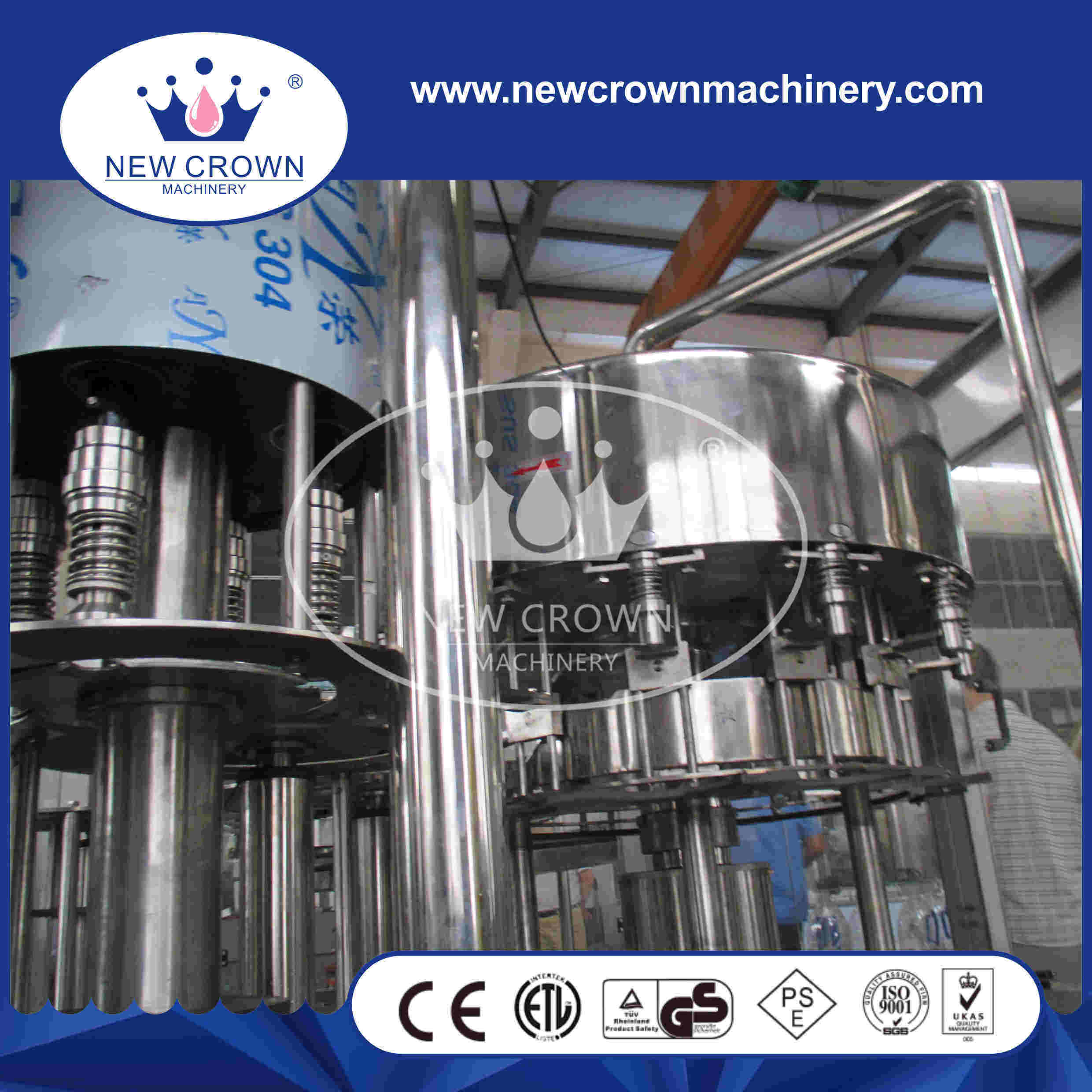 CE Approved Cgf8-8-3 5L Plastic Bottle Water Filling Machine pictures & photos