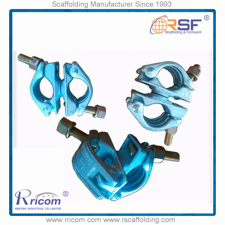 Fixed Double Pipe Clamps/Swivel Pipe Clamps/Connecting Pipe Clamps Scaffolding Coupler pictures & photos