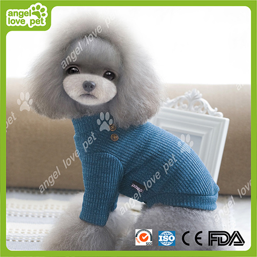 Fashion Navy Blue Sweater Pet Dog Clothes