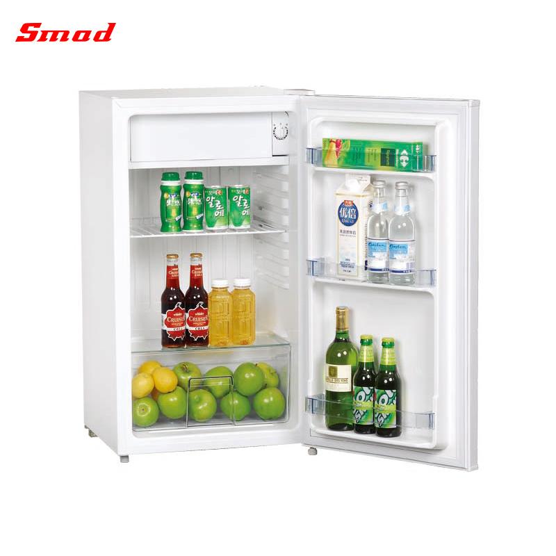 wooden mini fridge