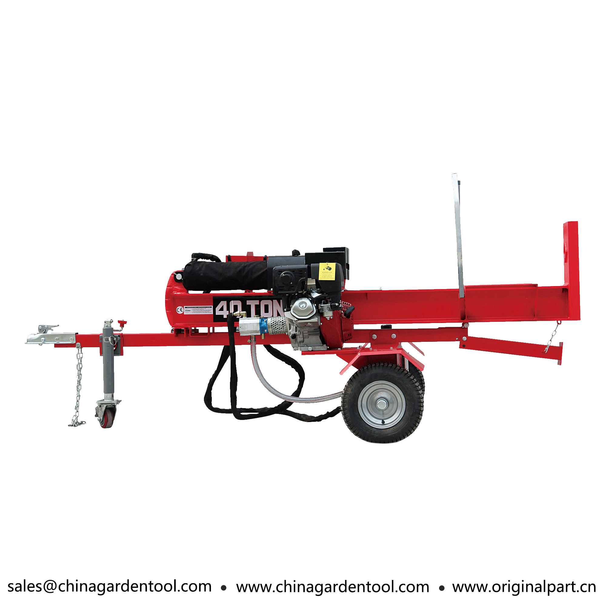 China Automatic Honda Engine Manual Start Petrol Log Splitter - China Log  Splitter, Woodworking Machine