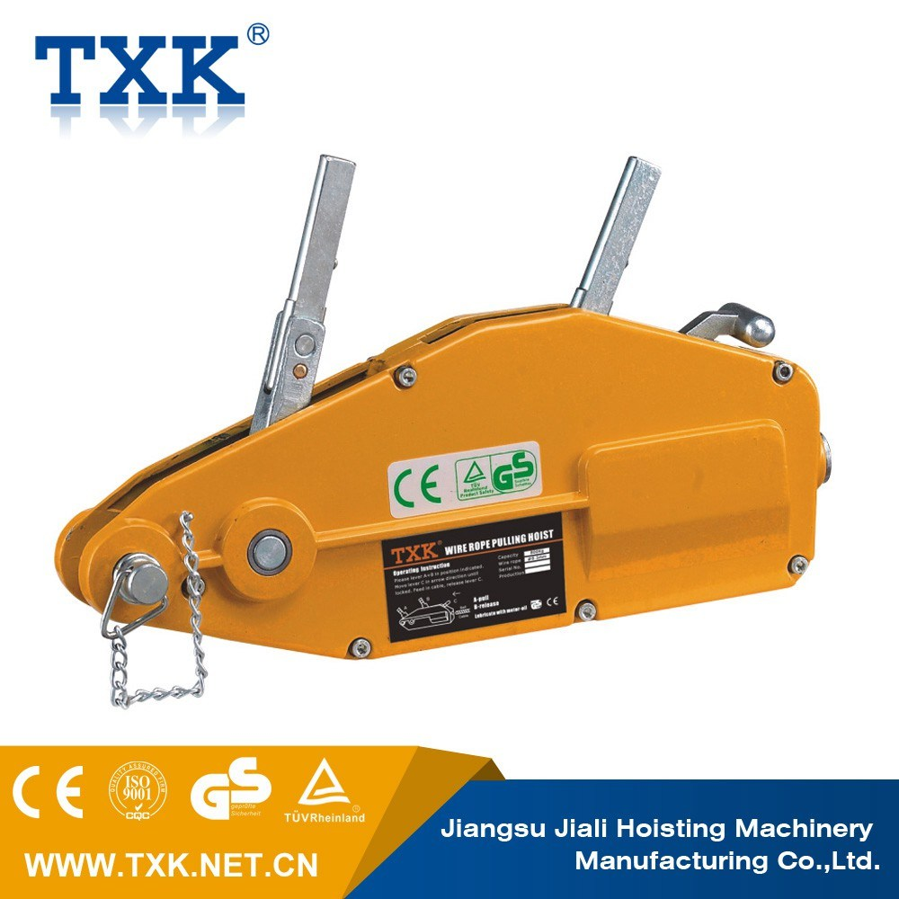 China 1600 Kg Wire Rope Puller with Adjustable Handle - China Wire ...