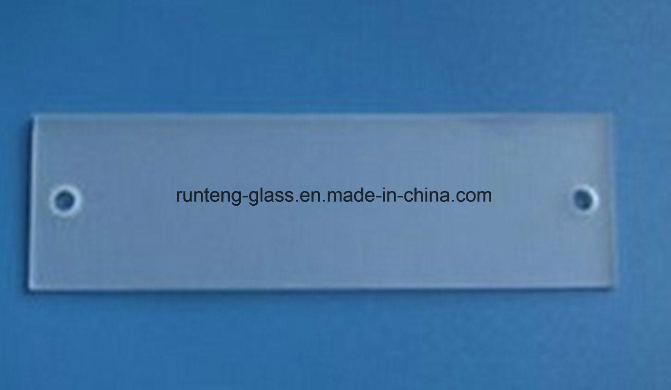 China 10mm Glass Shelf Frosted Glass Bathroom - China Shelf Glass ...