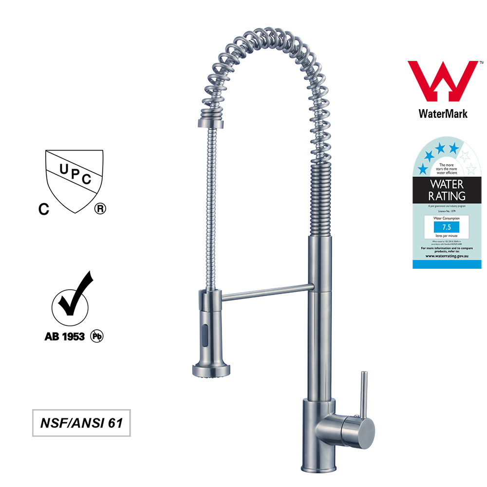 [Hot Item] Hot Cold Water Mixer Pull out Faucets Single Handle Kitchen Tap