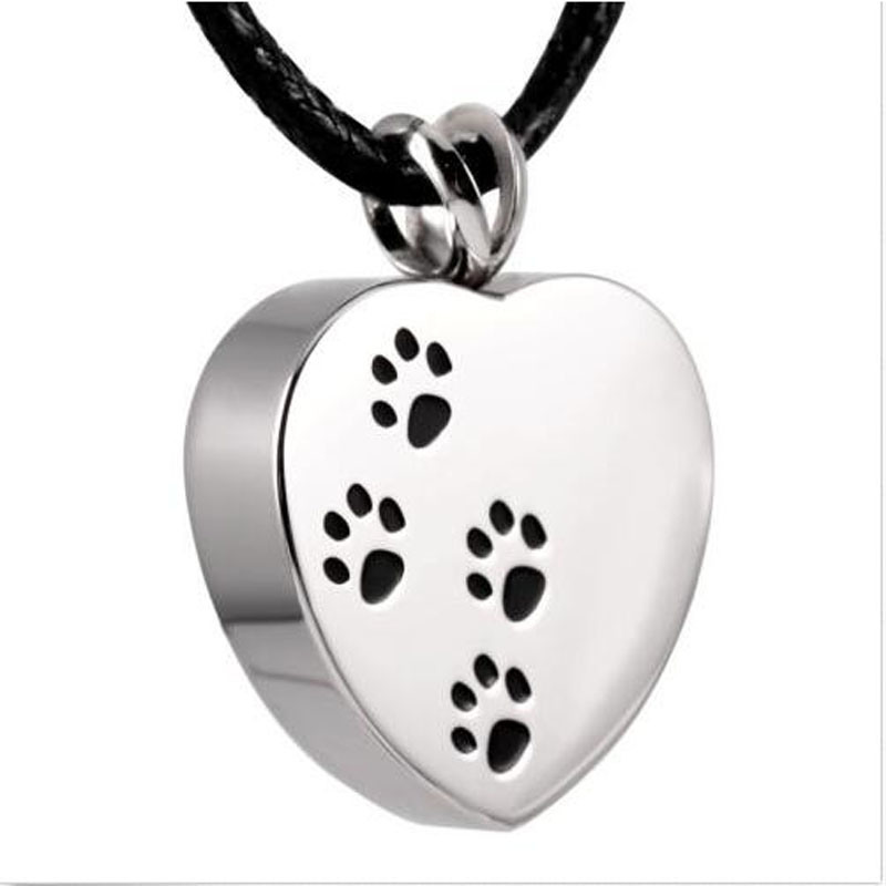 China custom made personalized fashion accessories can open china custom made personalized fashion accessories can open stainless steel footprint heart carved bone box pendant funeral cremation ash jewelry necklace aloadofball Images
