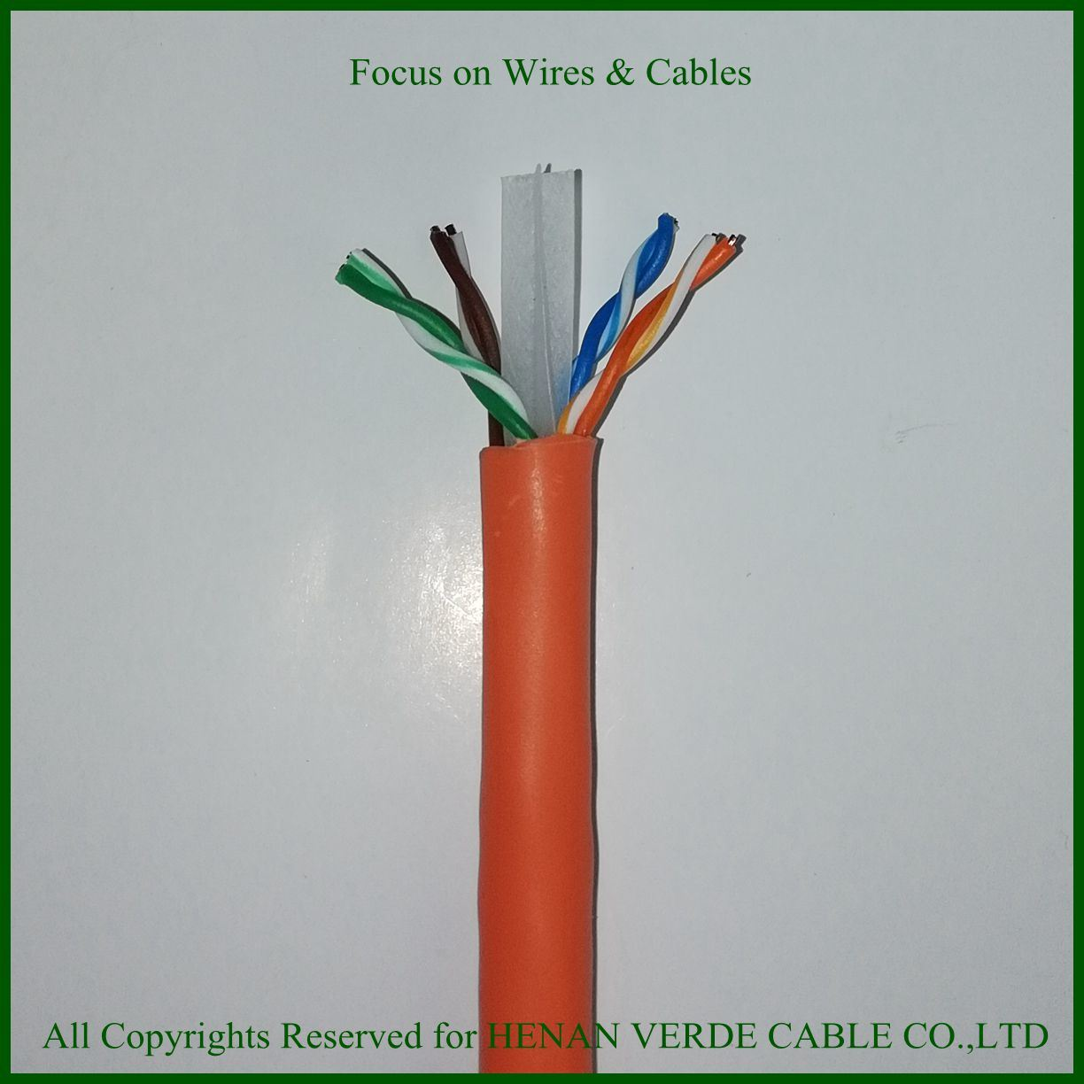 China Rohs Pvc Utp Cat6 Network Data Cable Lan Wiring Computer