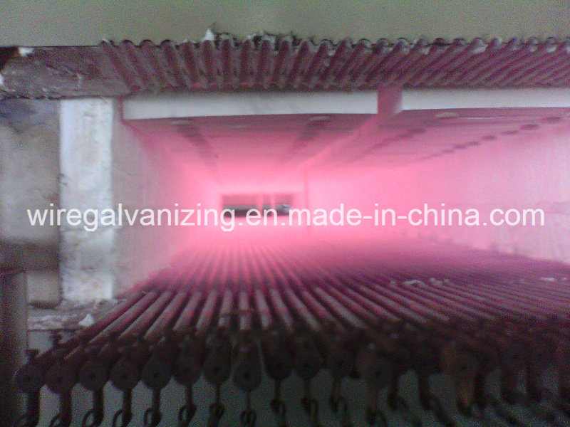 Muffle Type Gas Fired Alloy Steel Wire Bright Annealing Furnace