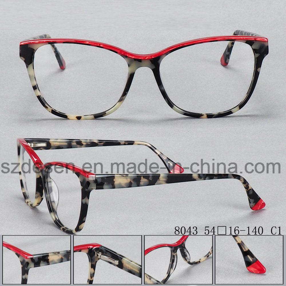 China Wholesale Custom Multi Color Acetate Optical Eyeglasses Frames ...