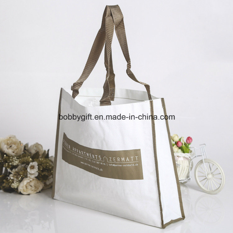 Laminated PP Woven Shopping Bag for Promotional