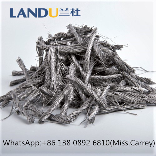 China Twist Bunchy Type PP Fiber for Construction Grades