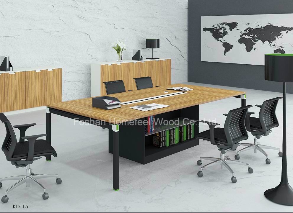 small office conference table. New Design Boardroom Office Conference Table With Small Cabinet (HF-YZKD015)