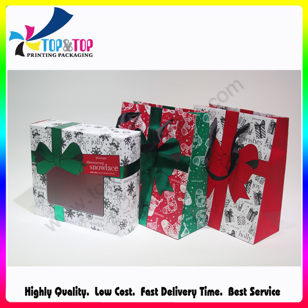 Hot Item Beautiful Gift Boxes Wholesale Paper Christmas Packaging